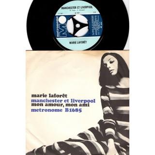 Marie Laforêt: Manchester Et Liverpool/Mon Amour, Mon Ami – 1967 – DENMARK.