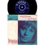Marianne Faithfull: Oh Look Around You/Yesterday – 1965 – ENGLAND.