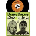 Lee Hazlewood & Nancy Sinatra: Elusive Dreams/ Grenwich Village Folk Song Salesman – 1969 – GERMANY.