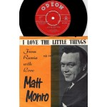 Matt Monro: I Love The Little Things/From Russia With Love - ???? – NORGE.