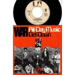 War: All Day Music/Get Down – 1971 – GERMANY.