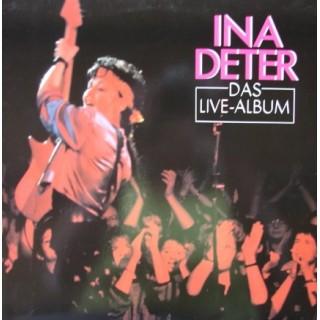 Ina Deter: Das Live-Album – 2LP – 1987 – GERMANY.