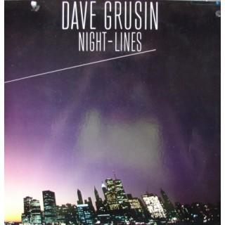 Dave Grusin: Night-Lines – 1984 – JAPAN.