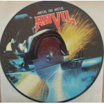 Anvil: Metal On Metal - Picture Disc – 1983 – FRANCE.