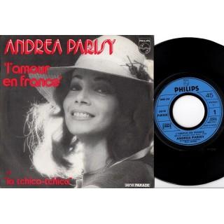 Andrea Parisy: L´Amour En France/La Tchica-Tchica – MONO – 1972 – FRANCE.