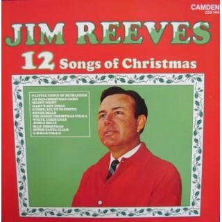 Jim Reeves: 12 Songs Of Christmas – 1984 – ENGLAND.