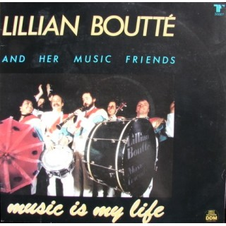 Lillian Boutté and Her Music Friends: Music Is My Life – 1984 – HOLLAND.