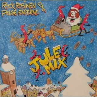 Rock Rosinen & Pølse-Enderne: Rockrosinens Julemix –MAXI SINGLE – 1990 - DANMARK.