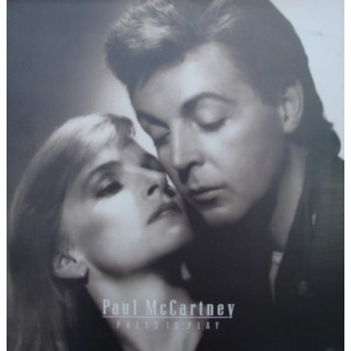 Paul McCartney: Press To Play – 1986 – ENGLAND.