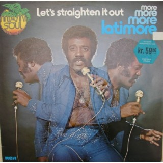 Latimore: Let´S Straighten It Out – 1974 – GERMANY.