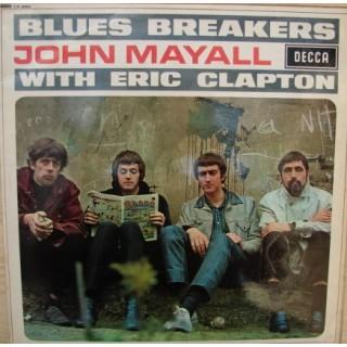 John Mayall with Eric Clapton: Blues Breakers – 1966 – MONO – ENGLAND.