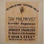 Diverse Kunstnere: Musikalske Venner No. 2 – 1977 – ENGLAND.