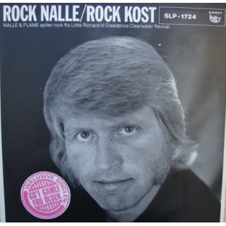 Rock-Nalle & The Flames: Rock-Kost – 1977 – DANMARK.