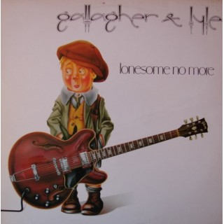 """Gallagher and Lyle: """"Lonesome No More"""" – 1979 – NORSK."""