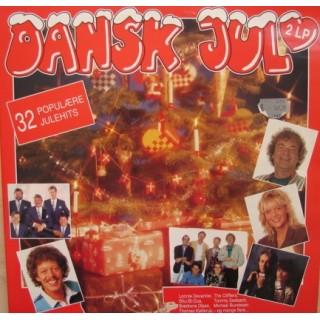 Diverse Kunstnere: Dansk Jul – 2LP – 1991 – EEC.