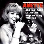Anette Blegvad: Jeg Ka´ Godt LI´ Æbler – 1966 – DANMARK.
