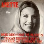 Anette Blegvad: Mød Mig I Nat På Månen – 1969 – DANMARK.