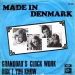 Made In Denmark: Granddad´s Clock Work – 1973 – DANMARK.