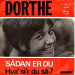 Dorthe: Sådan Er Du – MONO - 1966 – NORGE.
