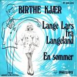 Birthe Kjær: Lange Lars Fra Langeland – 1970 – NORGE.