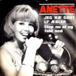 Anette Blegvad: Jeg Ka Godt Li´ Æbler – 1966 – DANMARK.