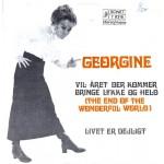 Georgine: Vil Året Der Kommer Bringe Lykke og Held – 1968 – DANMARK.