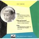Gitte Hænning: Min Teddybjørn – EP – 1955 – DANMARK.