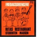 Fredagsdrengene: Ritas Restaurant – 1971 – DANMARK.