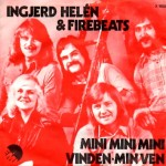 Ingrid Helén & Firebeats: Mini Mini Mini -1974 – DANMARK.