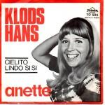 Anette Blegvad: Klodshans – 1970 – DANMARK.