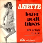 Anette Blegvad: Jeg Er Godt Tilpas – 1970 – DANMARK.
