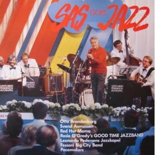 SAS Goes JAZZ – Otto Brandenburg – Svend Asmussen – Fessors Big City – 1985 – DENMARK.