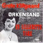 Grete Klitgaard: Ørkensand – 1962 – DANMARK.