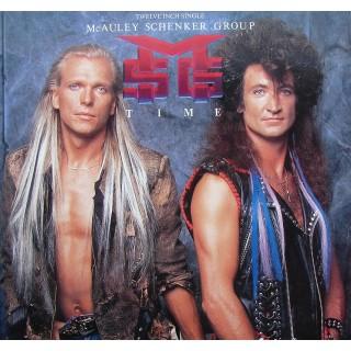 McAuley Schenker Group: Time – 1987 – GERMANY.