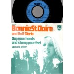 Bonnie St.Claire & Unit Gloria: Clap Your Hands and Stamp Your Feet/Catch Me Driver – 1972 – HOLLAND