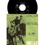 The Hollies: Carrie Anne/Signs That Will Never Change – 1967 – DENMARK.