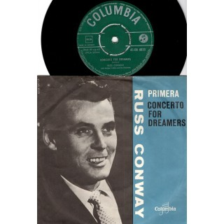 Russ Conway: Primera/Concerto For Dreamers – 1962 – NORGE.